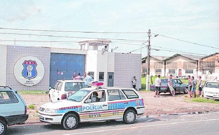 Sede da Nordeste Segurança de Valores (NSV), em Caucaia, alvo de roubo em 2000