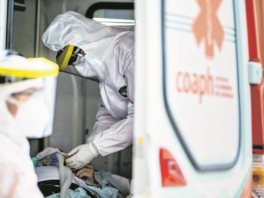 Pacientes procuraram leitos de emergência