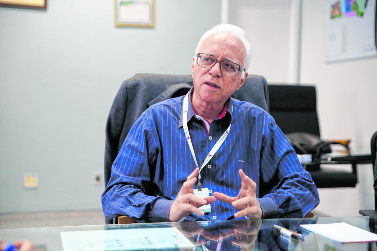 O médico psiquiatra e ex-reitor da Uece passou 54 dias internados