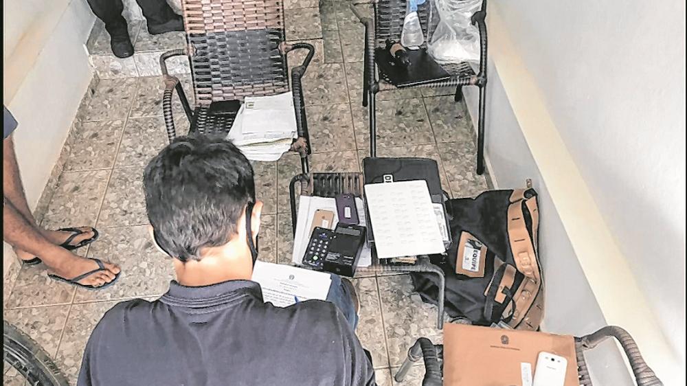 Policiais federais apreenderam documentos e mídias eletrônicas Mandados foram cumpridos em quatro municípios do Interior do Estado