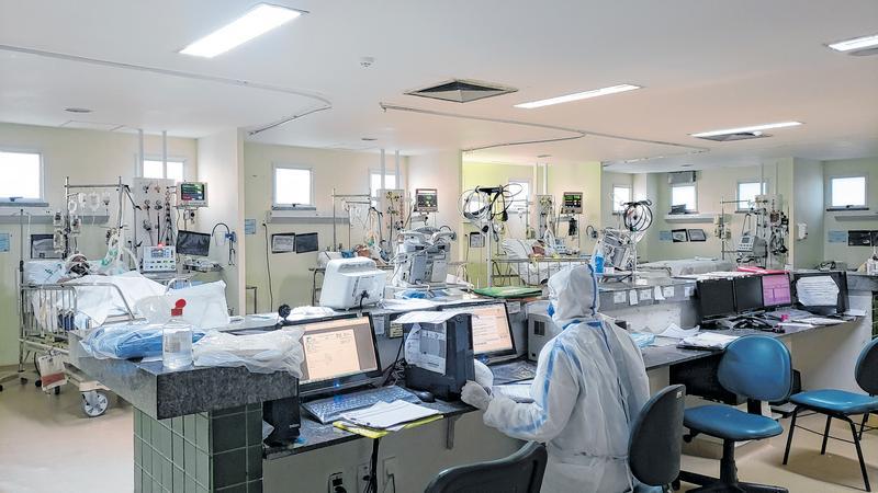 O Hospital Regional do Cariri terá mais 29 leitos para Covid FOTO: RAQUEL OLIVEIRA
