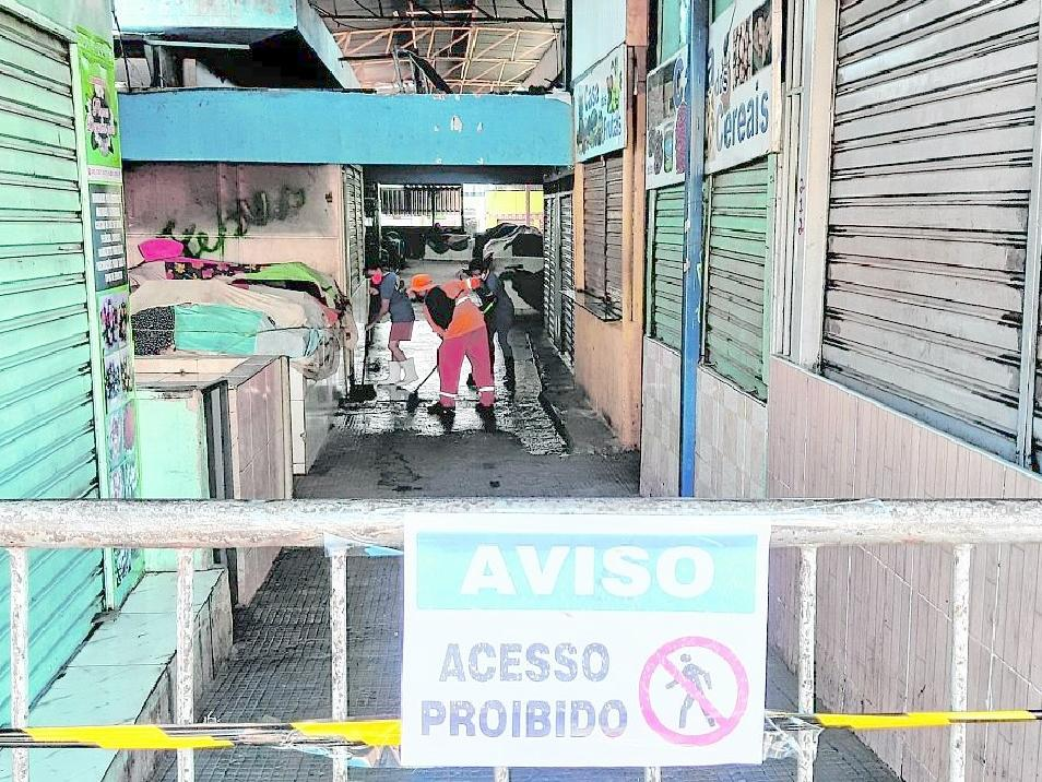 Foto do mercado público de Juazeiro do Norte, no Cariri