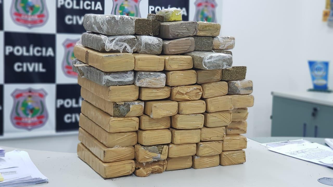 Esta é uma imagem de uma ação investigativa da Polícia Civil do Ceará
