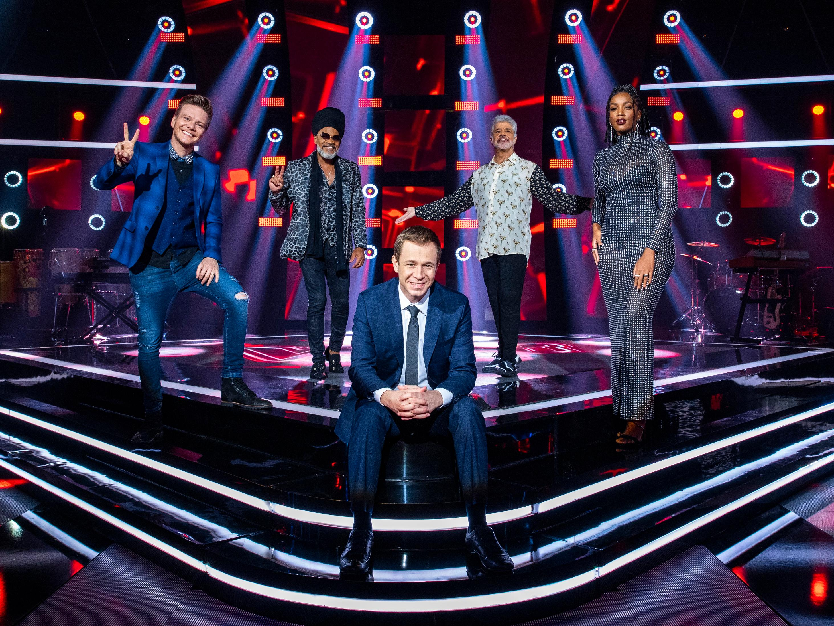Técnicos do The Voice Brasil