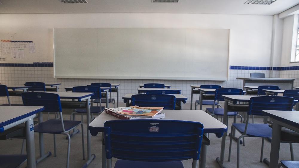 sala de aula da rede pública ceará