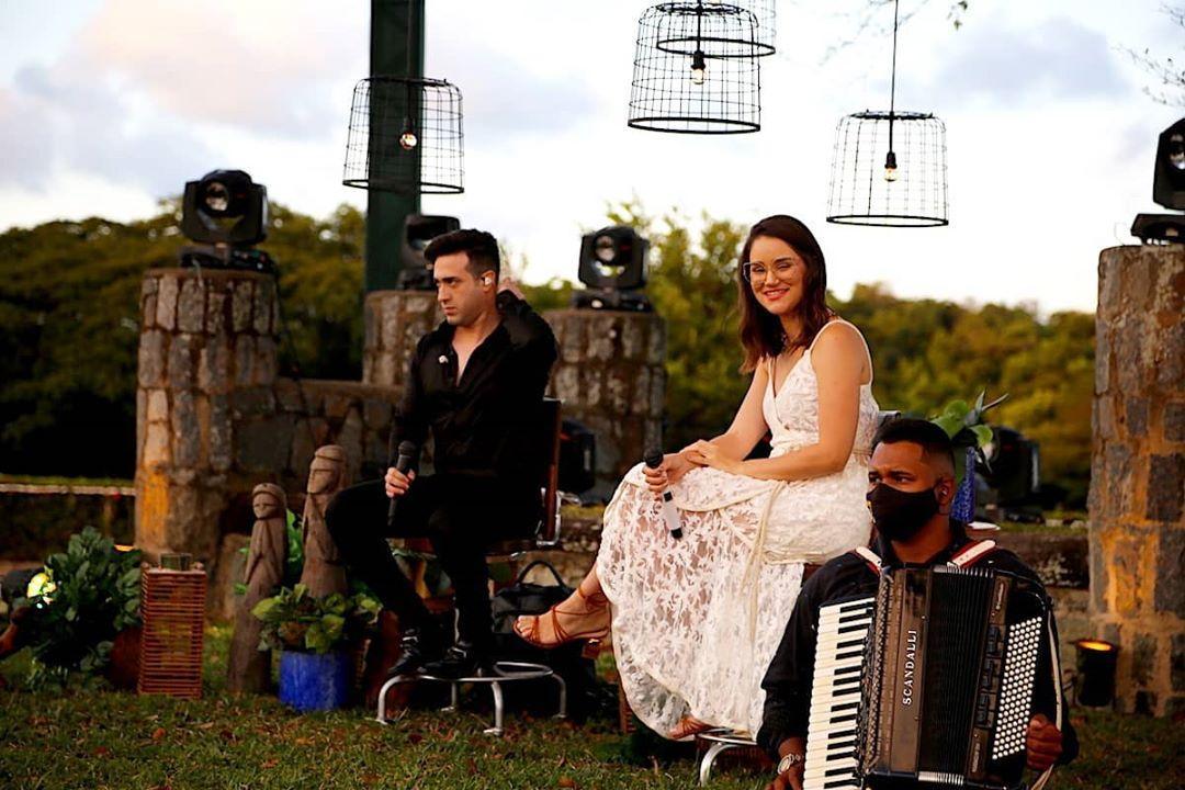 Durante pandemia do coronavírus, cantora chegou a fazer live