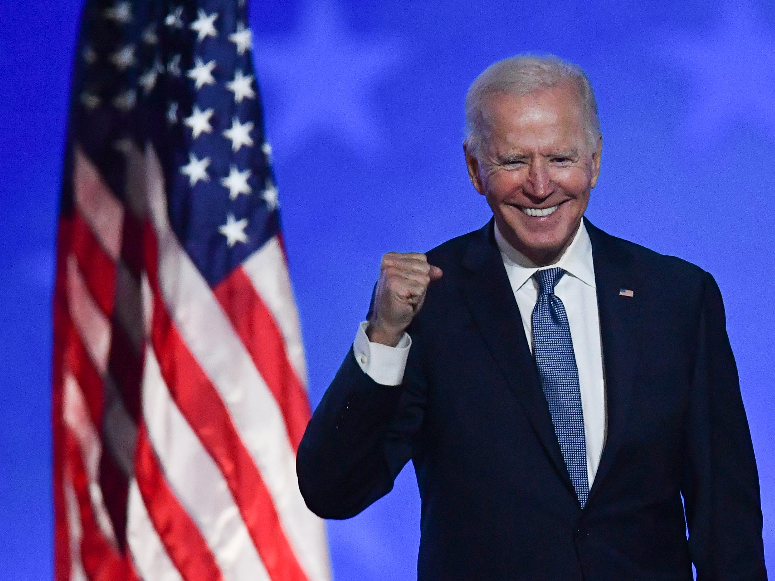 Esta é uma imagem de Biden
