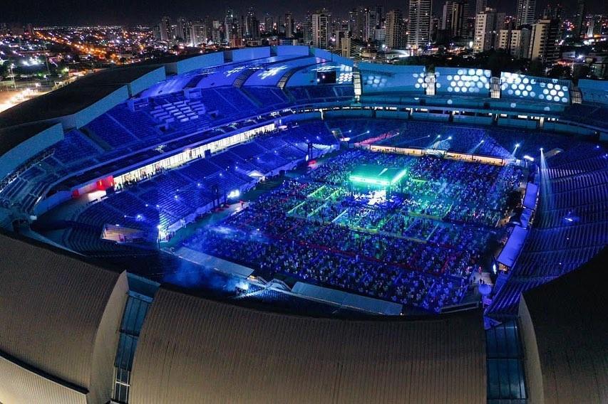 Evento aconteceu dentro da Arena Dunas