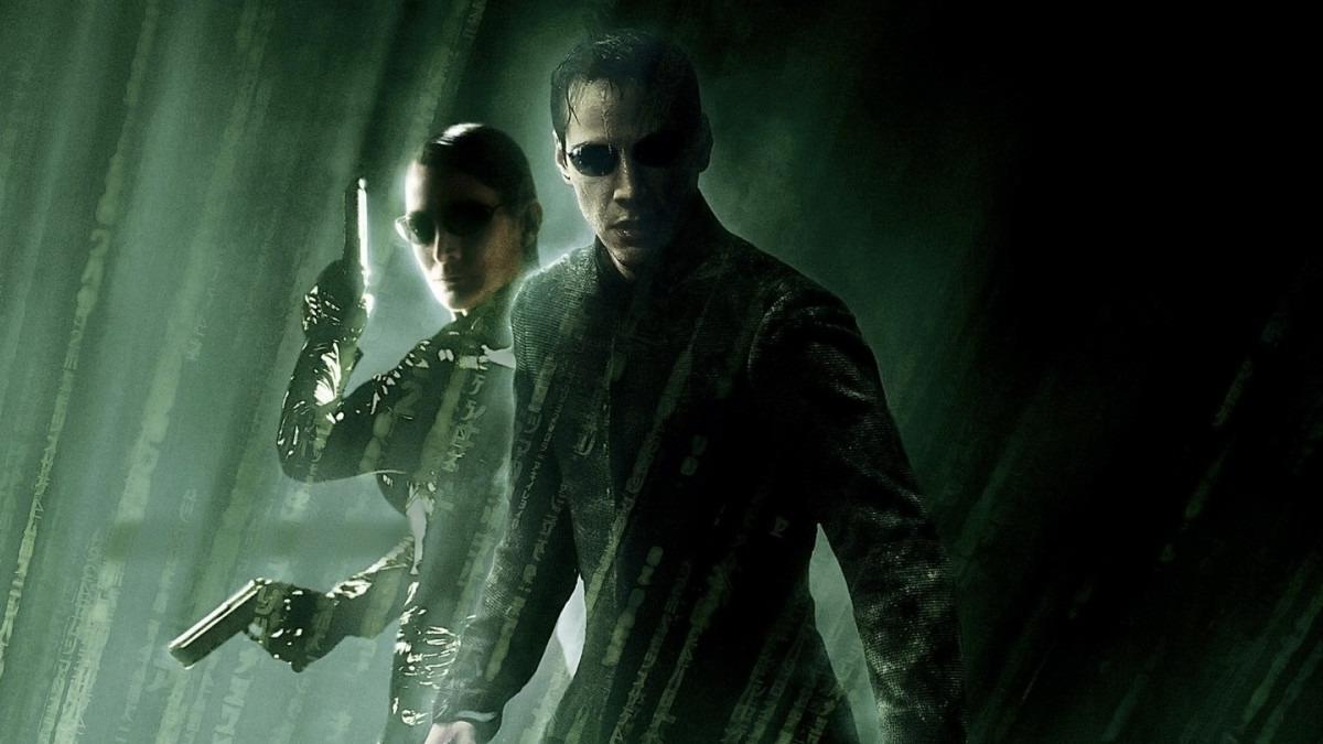 Esta é uma imagem do filme Matrix