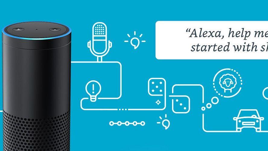 As skills da Alexa são aplicativos ativados por voz que adicionam recursos ao dispositivo compatível com a Alexa. As skills adicionam novas funcionalidades à sua experiência com a Alexa. Elas estão disponíveis em várias categorias, como: Educação e referência.