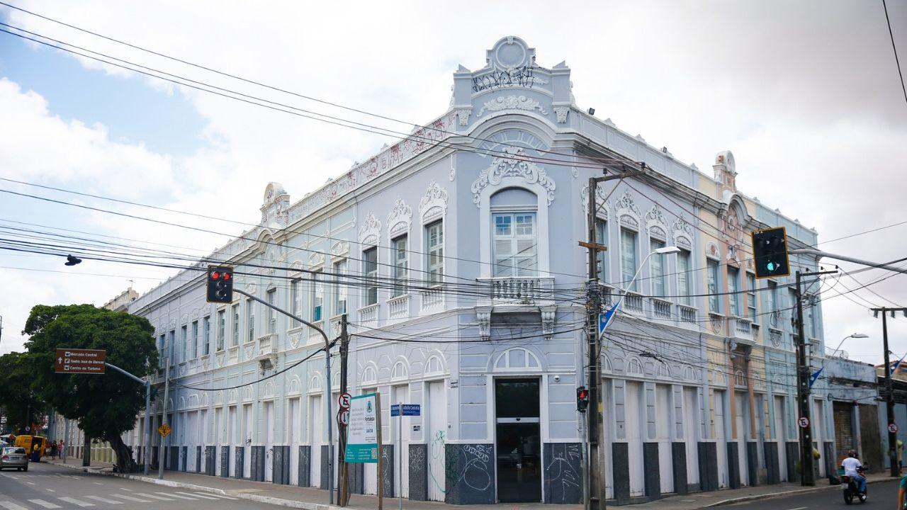 fachada da sefaz em Fortaleza