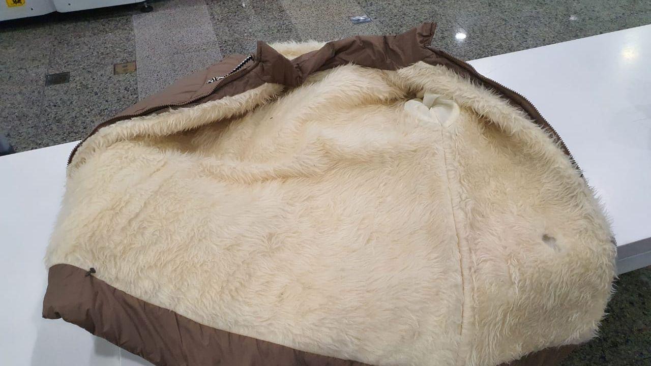 Rondoniense é preso no Aeroporto de Fortaleza com cocaína escondida dentro de mala e casacos