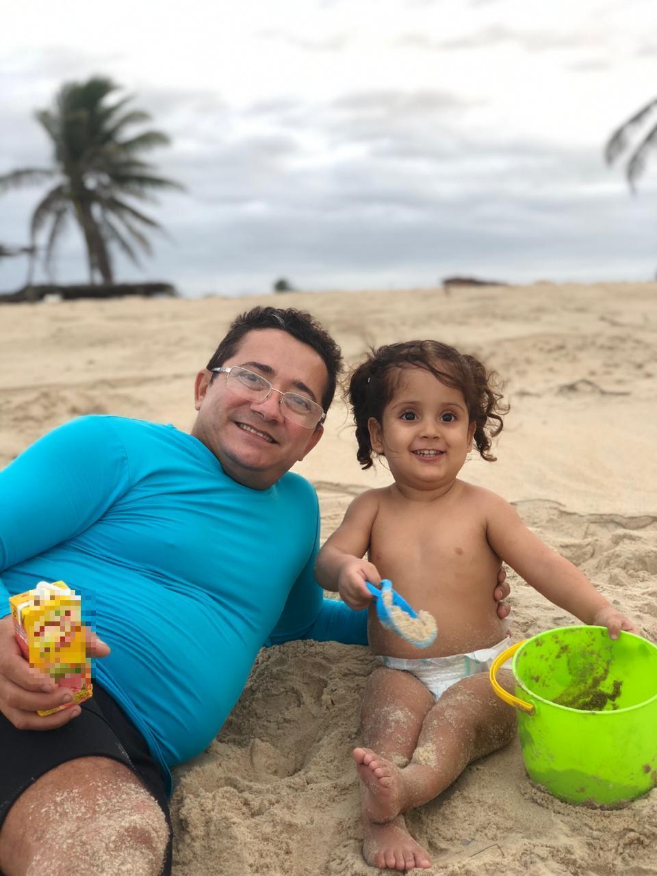 Cláudio Vieira, tripulante da lancha O Maestro