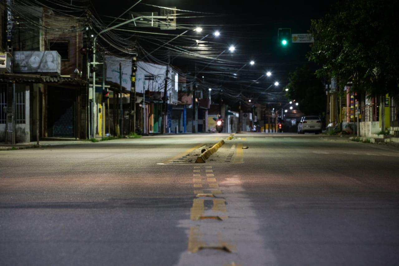 Rua no bairro conjunto esperança