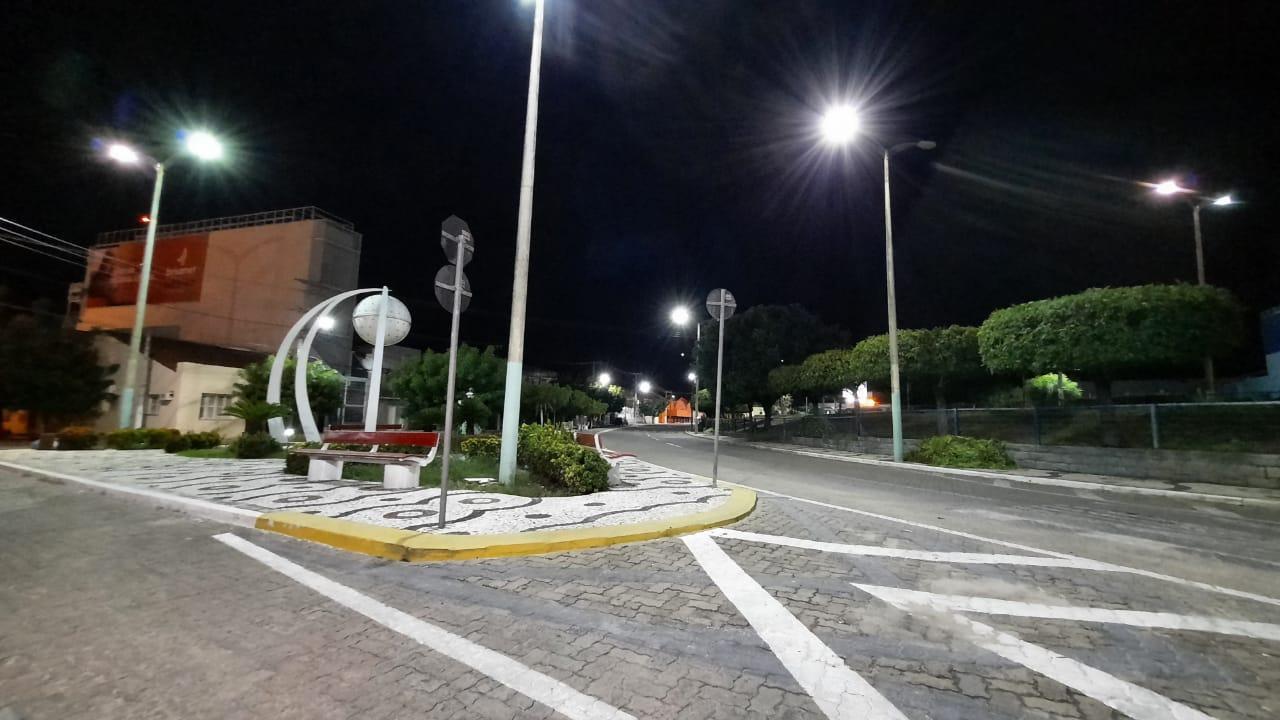 Praça em Iguatu