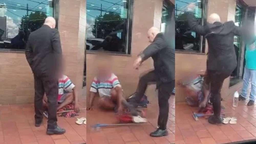 Limpador de para-brisa é agredido por supervisor de churrascaria em São Paulo