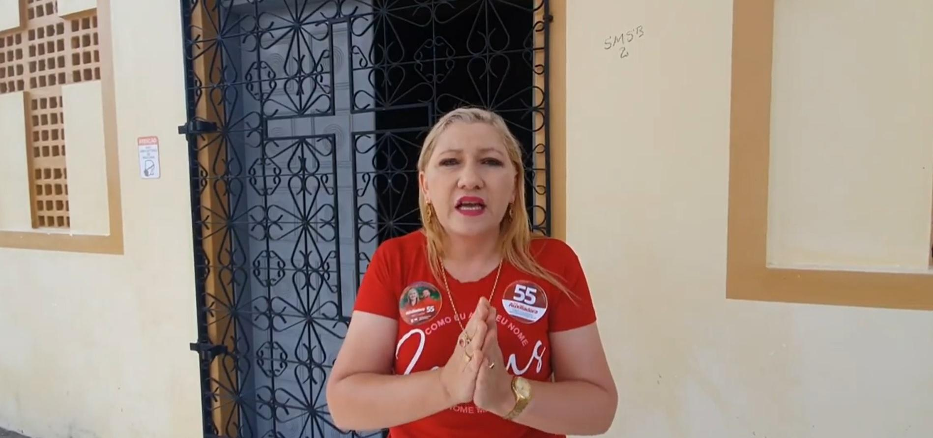 Prefeita eleita de Barreira, Dra. Auxiliadora