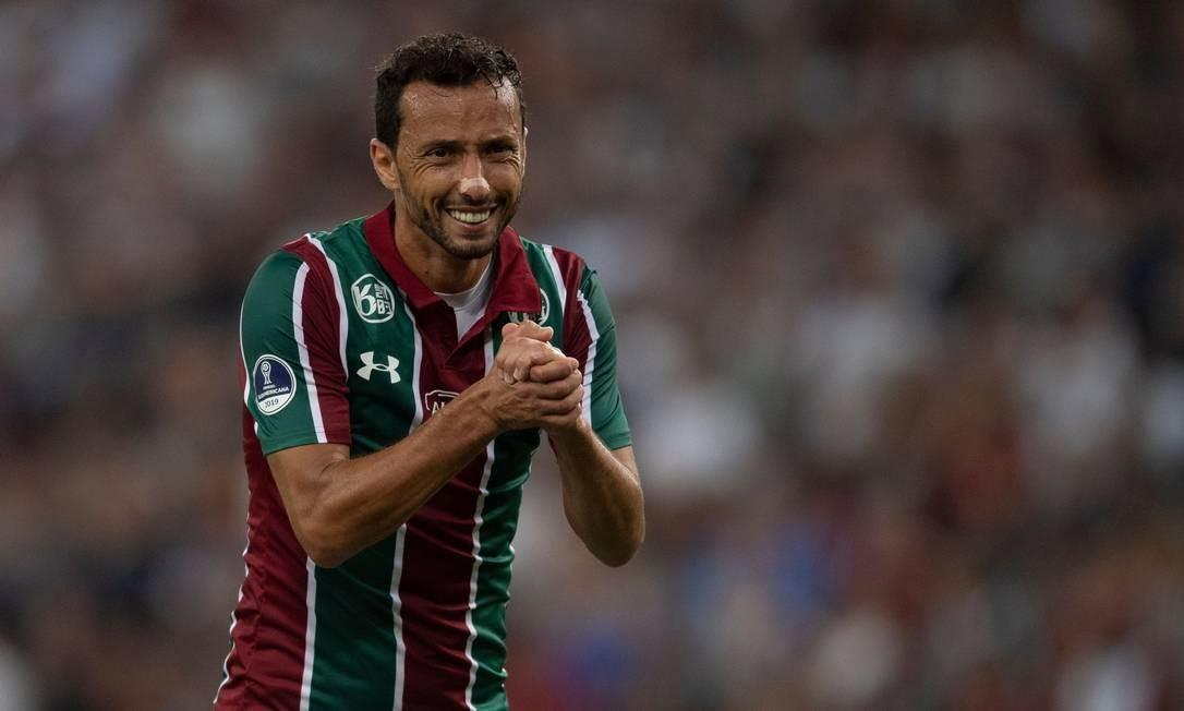 Nenê é um dos principais destaques do Fluminense no Brasileirão de 2020
