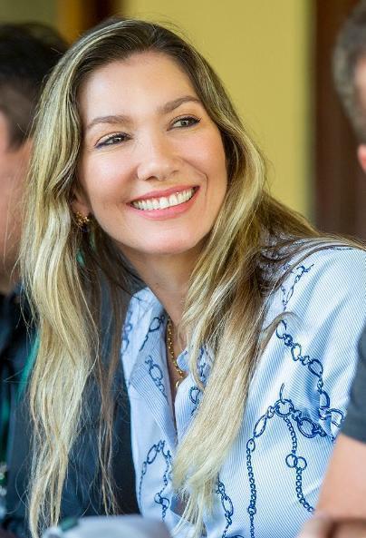 Candice Rangel Trajano, 42 anos, é casada com Tom Trajano e mãe do Gabriel e da Clara.