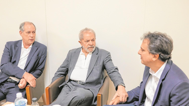 Ciro, Lula e Camilo
