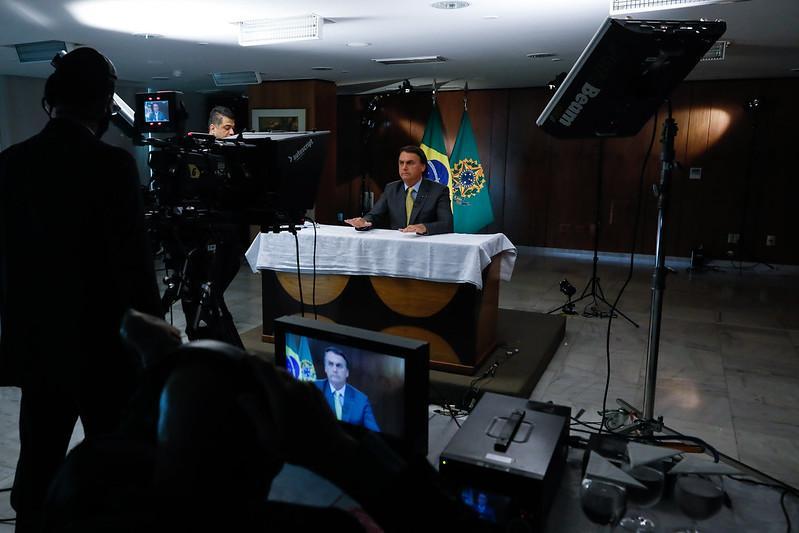 Bolsonaro defendeu a vacinação durante pronunciamento na última semana