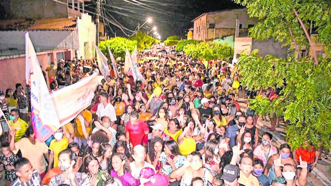 Justiça condena candidatos de pelo menos 6 municípios cearenses por aglomerações  durante a campanha - Política - Diário do Nordeste