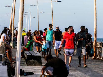Aglomeração jovens Fortaleza