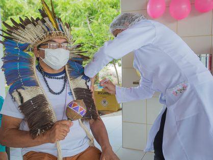 Vacinação de indígenas