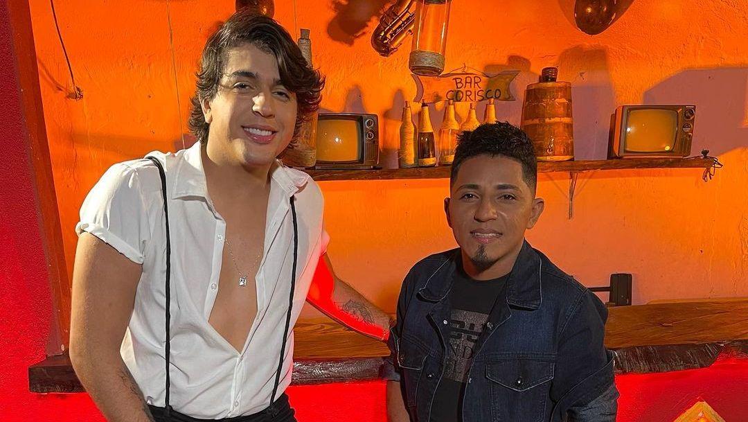 Nattan grava clipe com Elias Monkbel, voz do viral 'Linda Bela'; veja bastidores - É Hit - Diário do Nordeste