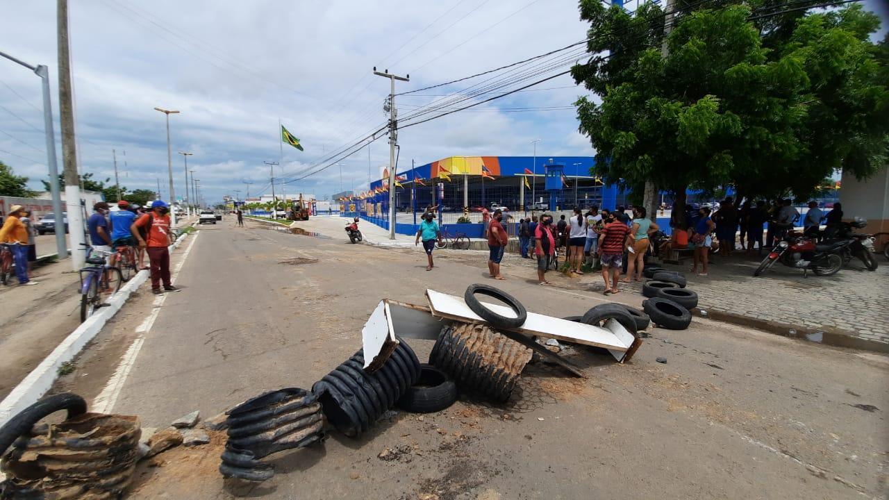 Protesto em Iguatu