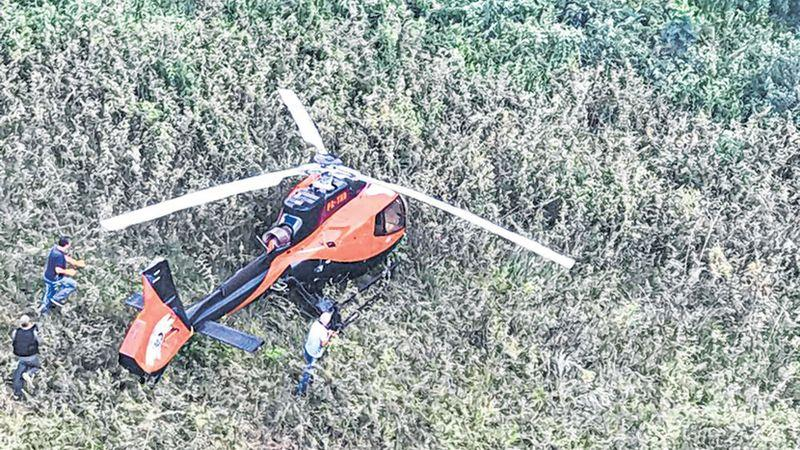 Aeronave utilizada no crime foi apreendida em São Paulo