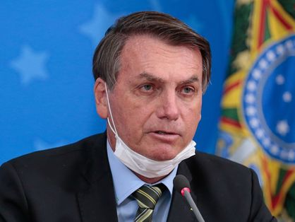 foto do presidente Jair Bolsonaro