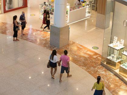 movimento em compras