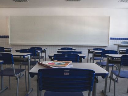 sala de aula vazia no ceará