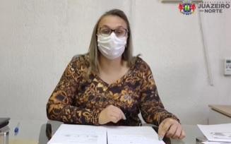 Secretária de Saúde de Juazeiro do Norte, Francimone Gomes