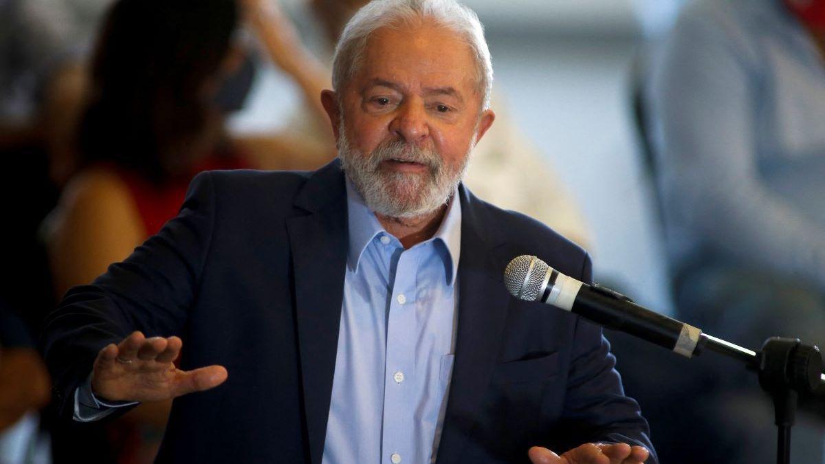Lula em discurso