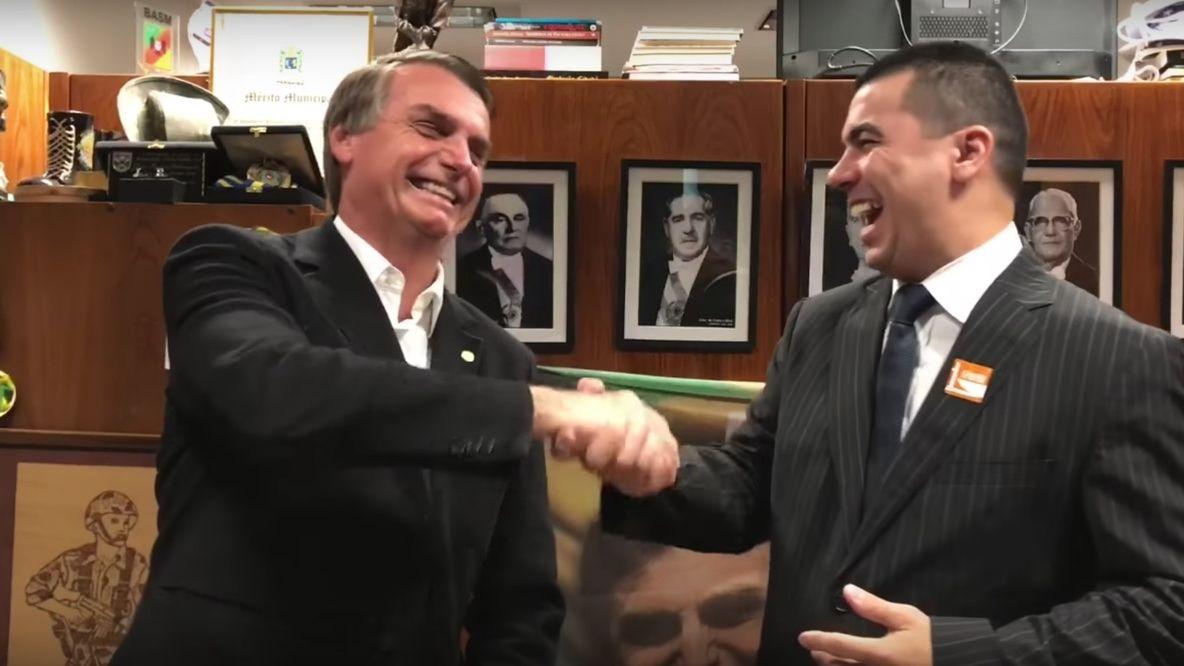 Jair Bolsonaro e Luís Miranda