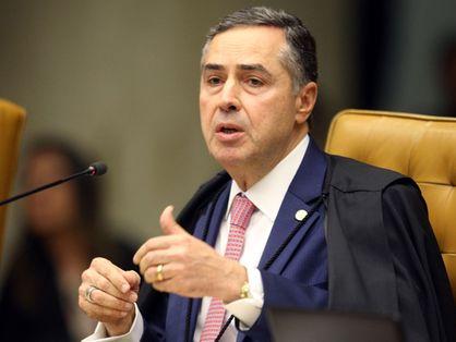 Presidente do TSE e ministro do STF, Luís Roberto Barroso
