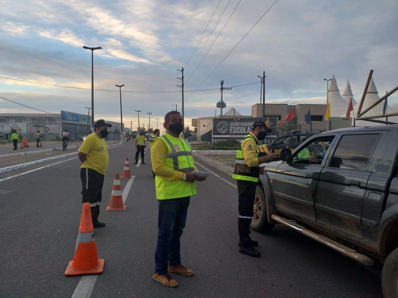 Iguatu intensifica fiscalização com intuito de reduzir acidentes de trânsito