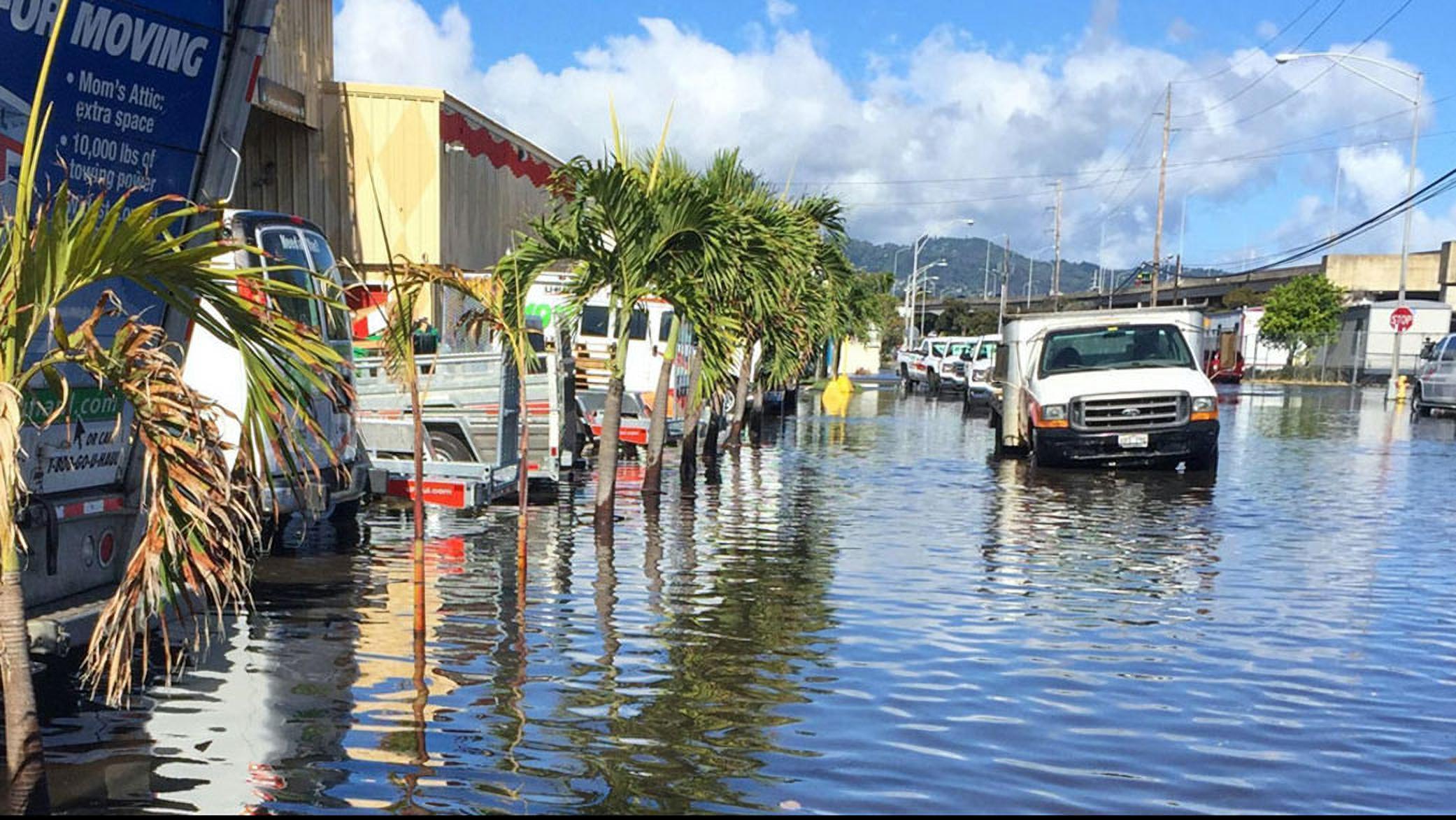 Inundações são comuns em zonas costeiras dos EUA. Fenômenos como El Niño geram elação das marés