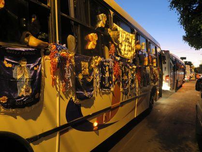 Ônibus com romeiros foram proibidos em Juazeiro do Norte