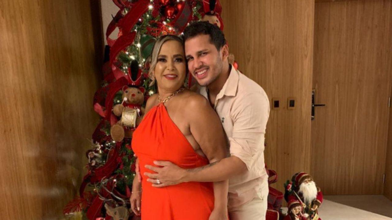 Lucas Guimarães e mãe