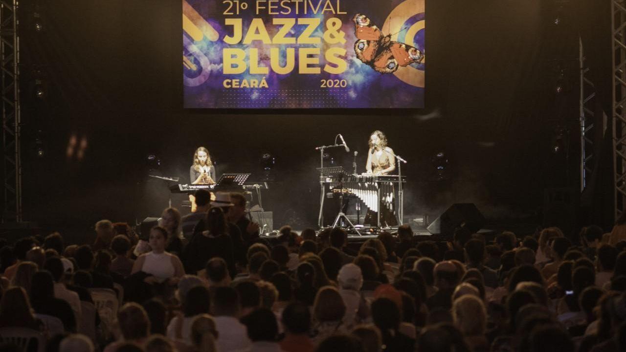 Público em show do Festival Jazz & Blues em Guaramiranga