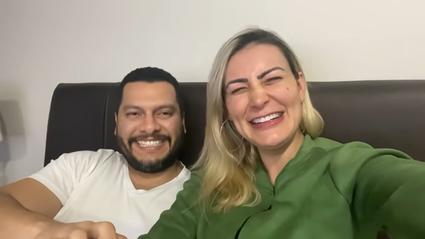Thiago Lopes e Andressa Urach