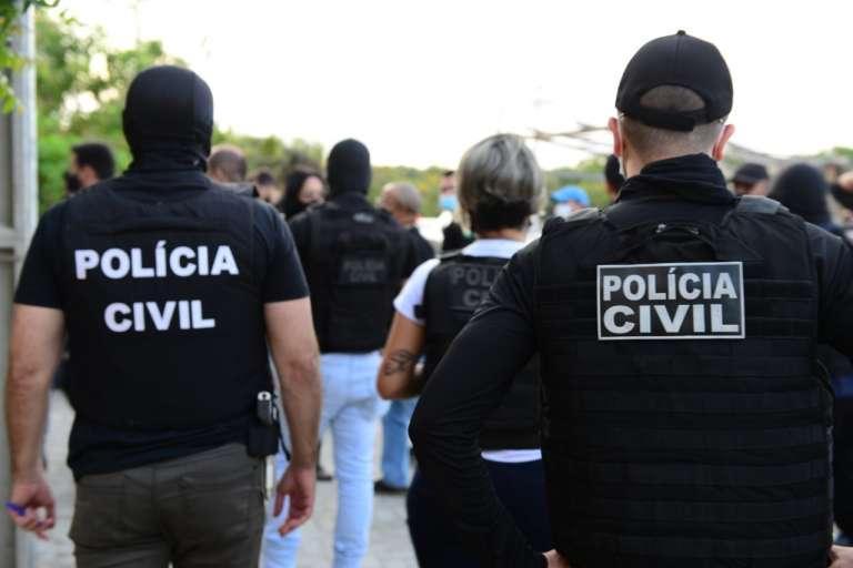 A ofensiva policial contou com a participação de cerca de 300 policiais civis e o apoio da Polícia Militar do Ceará