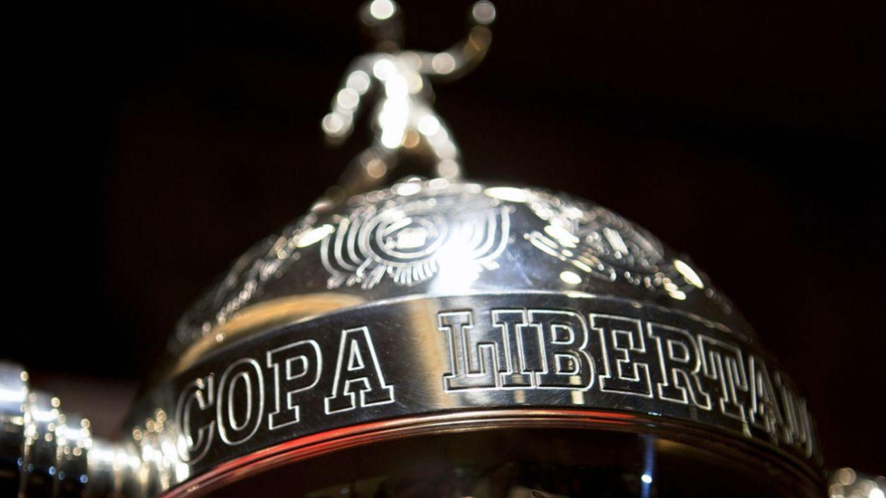 Imagem em detalhe da Taça Libertadores