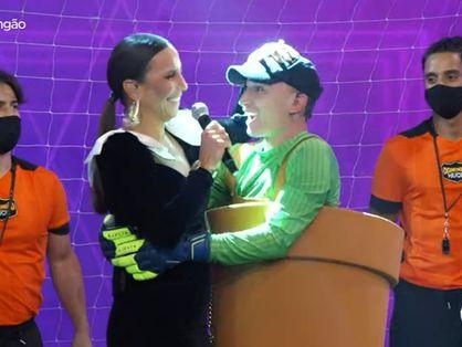 João Gomes abraçou Ivete Sangalo após descoberta
