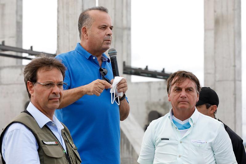 Ministro Rogério Marinho em visita ao Ceará