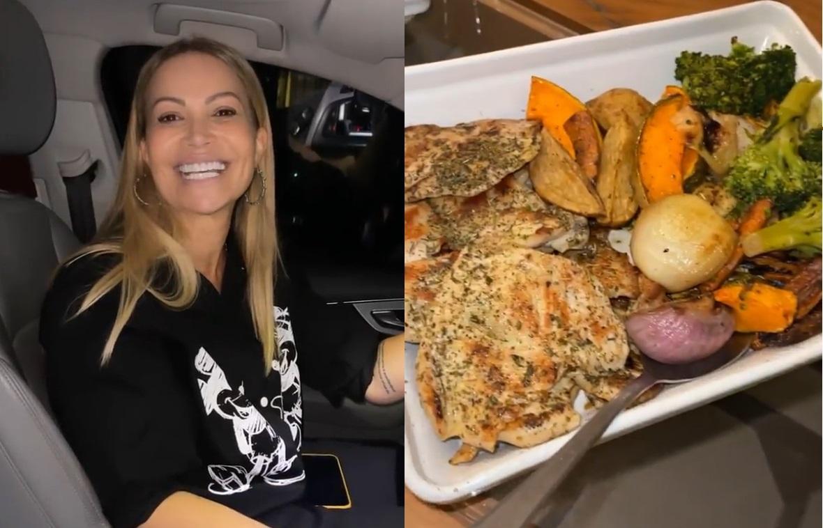 Solange Almeida buscou Carlinhos Maia em hotel e fez jantar