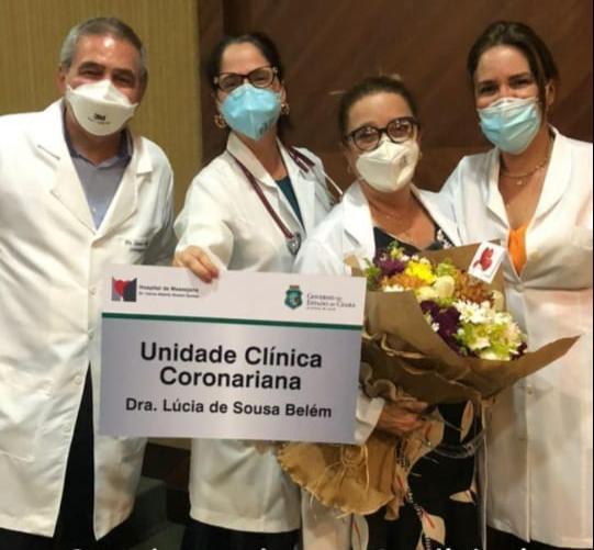 A cardiologista foi homenageada, em 2020, com o nome em uma unidade do Hospital de Messejana